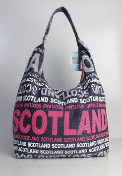 """Große Schultertasche Scotland """"urban style jeans"""""""