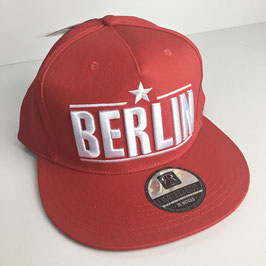 "Basecap Berlin URBAN ""red limted"""