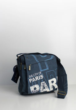 """Kleine Collegetasche Paris """"alex style"""""""