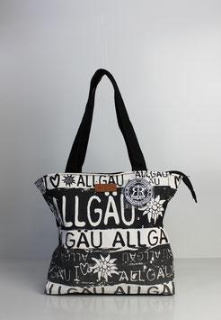 """Kleine Tasche Allgäu """"black & white"""""""