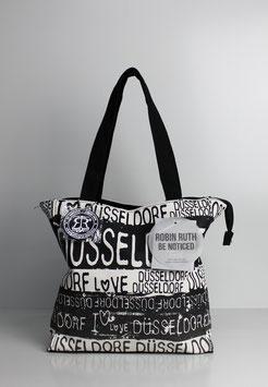"""Kleine Tasche Düsseldorf """"black & white"""""""