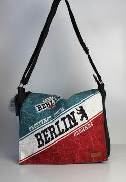 """Große Collegetasche Berlin """"big alex style"""""""