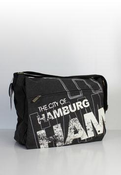 """Überschlagtasche Hamburg """"big alex style"""""""