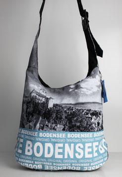 """Große Schultertasche Bodensee """"skyline"""""""