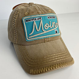 "Basecap Moin JOHNNY ""brown-blue"""