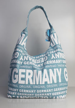 "Große Schultertasche Germany ""urban ocean style"""