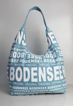 """Große Schultertasche Bodensee """"urban ocean style"""""""