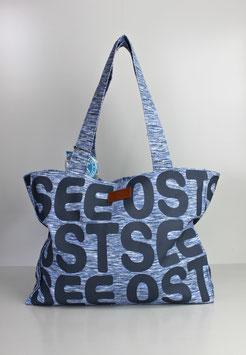 """Große Tasche Ostsee """"bold blue"""""""