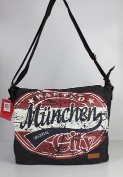 """Große Collegetasche München """"big wanted style"""""""