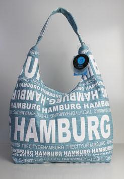 """Große Schultertasche Hamburg """"urban ocean style"""""""