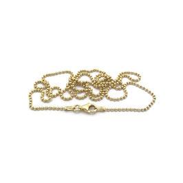 Kugelkette, 925er Silber vergoldet