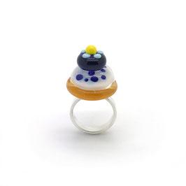 "Verstellbarer Ring ""Sasako"""