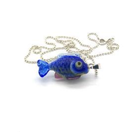 "Anhänger ""Blaufisk Silber"" *"