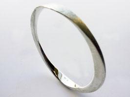 Silber Armreif, geschmiedet, poliert oder gebürstet, 935er Silber