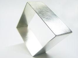 Armreif, Silber, Raute