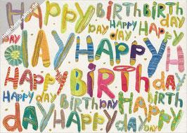 Pop Art Happy Birthday