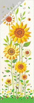 Sonnenblumen Lesezeichen