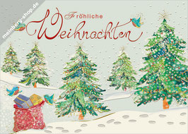 Tannen Fröhliche Weihnachten