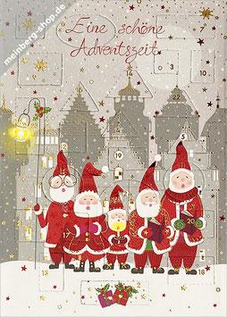 Singende Weihnachtsmänner