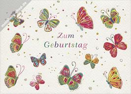 Schmetterlinge zum Geburtstag