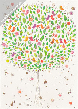 Baum mit Vögel