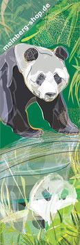 Pandabär Lesezeichen