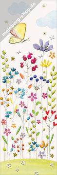 Blumenwiese Lesezeichen
