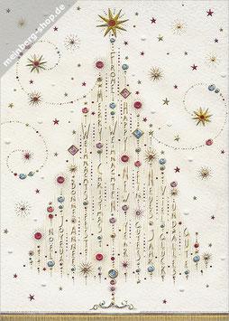 Weihnachtsbaum mehrsprachig