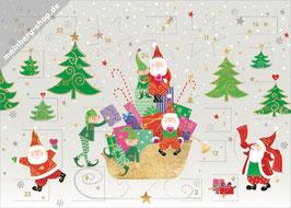 Weihnachtsmänner und Wichtel