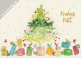 Tannenbaum und Weihnachtsgeschenke