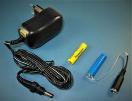AAA Micron Batterie - Netzteil Adapter - Komplett Set 3V