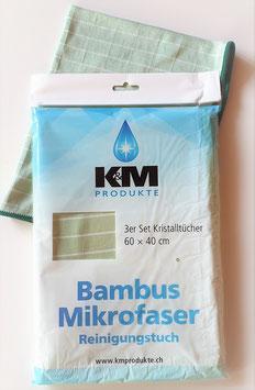 K&M Produkte Bambus Tuch 3er Set