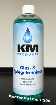 K&M Produkte Glas-& Spiegelreiniger (1000ml)