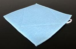 K&M Produkte Microfaser-Spühltuch mit eingewebten Schwamm