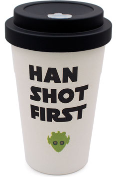"heyholi® Woodcup ""Han First"" Bambusbecher"