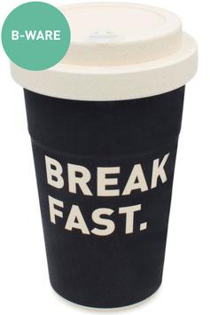 "B-Ware holi.® Woodcup ""Breakfast"" Bambusbecher"