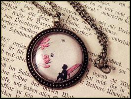 Träumerei - bronzefarbene Halskette