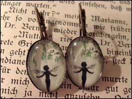 Elfentanz Ohrhänge bronzefarben
