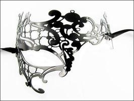 Venezianische Halbmaske schwarz