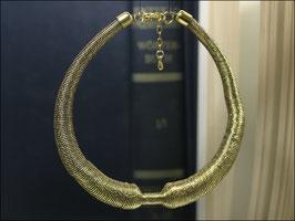 Persischer Knoten - goldfarbene Statementkette