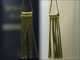 Maya - goldfarbene Ohrhänger