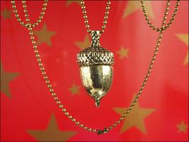 Eichelkette bronzefarben