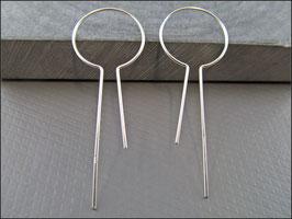 Ohrringe Lebenszeichen aus 925er Echt Sterling Silber