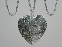 Großes Silberherz