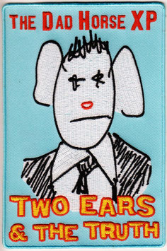 """PRETTY BIG PATCH (4""""x6""""): Two Ears & the Truth, LIMITED EDITION!"""
