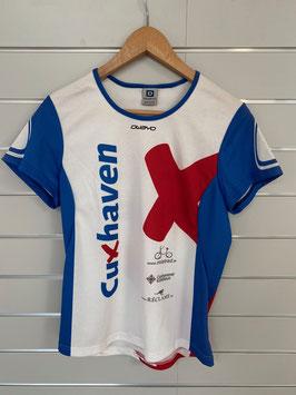"T-Shirt ""Cuxhaven"" Owayo, Kurzarm, weiß"
