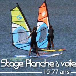 Stage planche à voile perfectionnement (du 16 au 20 août)
