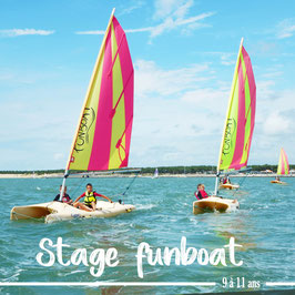 Stage Funboat (du 02 au 06 août)