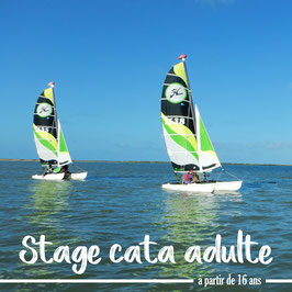 Stage catamaran adulte (du 12 au 16 juillet)