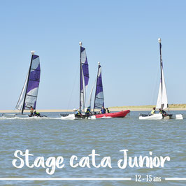 Stage cata junior  perfectionnement (du 02 au 06 août)